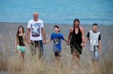 Family shoot Tarquinia, Patrick & Susan